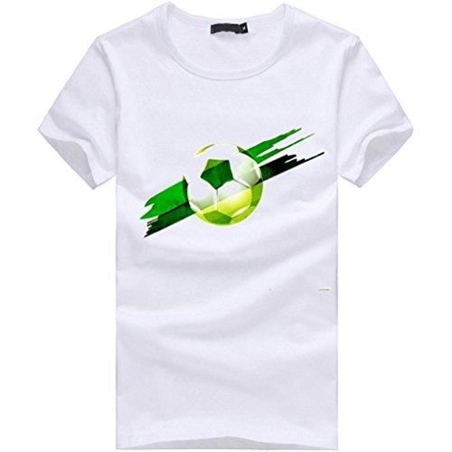 SANFASHION Bianco Bianco Wei Shirt145 Damen Bekleidung Donna f Ballerine SANFASHION vwFgZqv