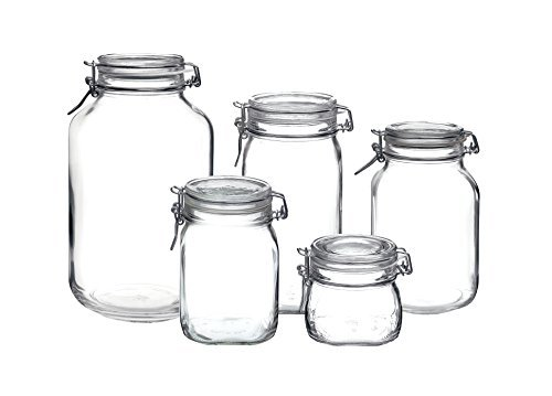 (Bormioli Rocco Fido Hermetic 5-Piece Jar)