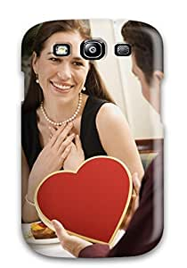 Durable Case For The Galaxy S3- Eco-friendly Retail Packaging(holiday Valentines Day) Sending Screen Protector in Free