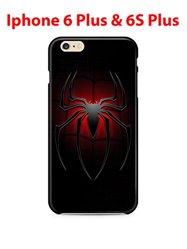 Spiderman (for Iphone 6 Plus / Iphone 6s Plus) 5.5in Hard Case Cover (sm21)