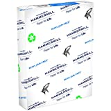 Hammermill Paper, Great White 50% Recycled Printer Paper, 8.5 x 11 Paper, Letter Size, 20lb Paper, 92 Bright, 1 Ream / 500 Sheets (086780R) Acid Free Paper