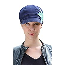 Blue Jean Baby Chemo Cap for Cancer Patients in Eco-friendly Organic Cotton