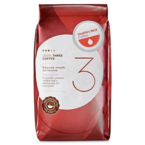 Coffee Tea Seattle (Seattle's Best Coffee Level 3 Best Blend Ground Coffee)