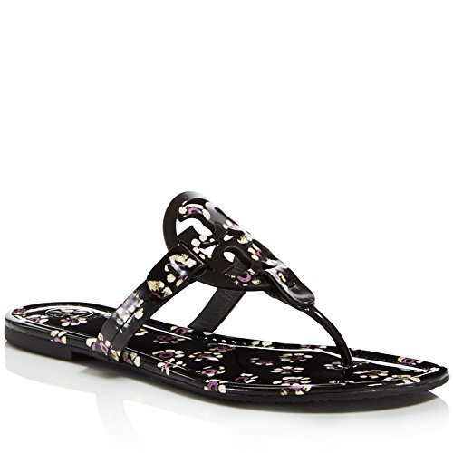 Floral Black Tory Stamped Miller Women's Burch 1AwCqA