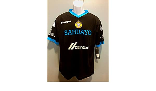 Amazon.com : Sahuayo Futbol Club Playera Manga Corta Kappa Pumas America Chivas (Large) : Sports & Outdoors