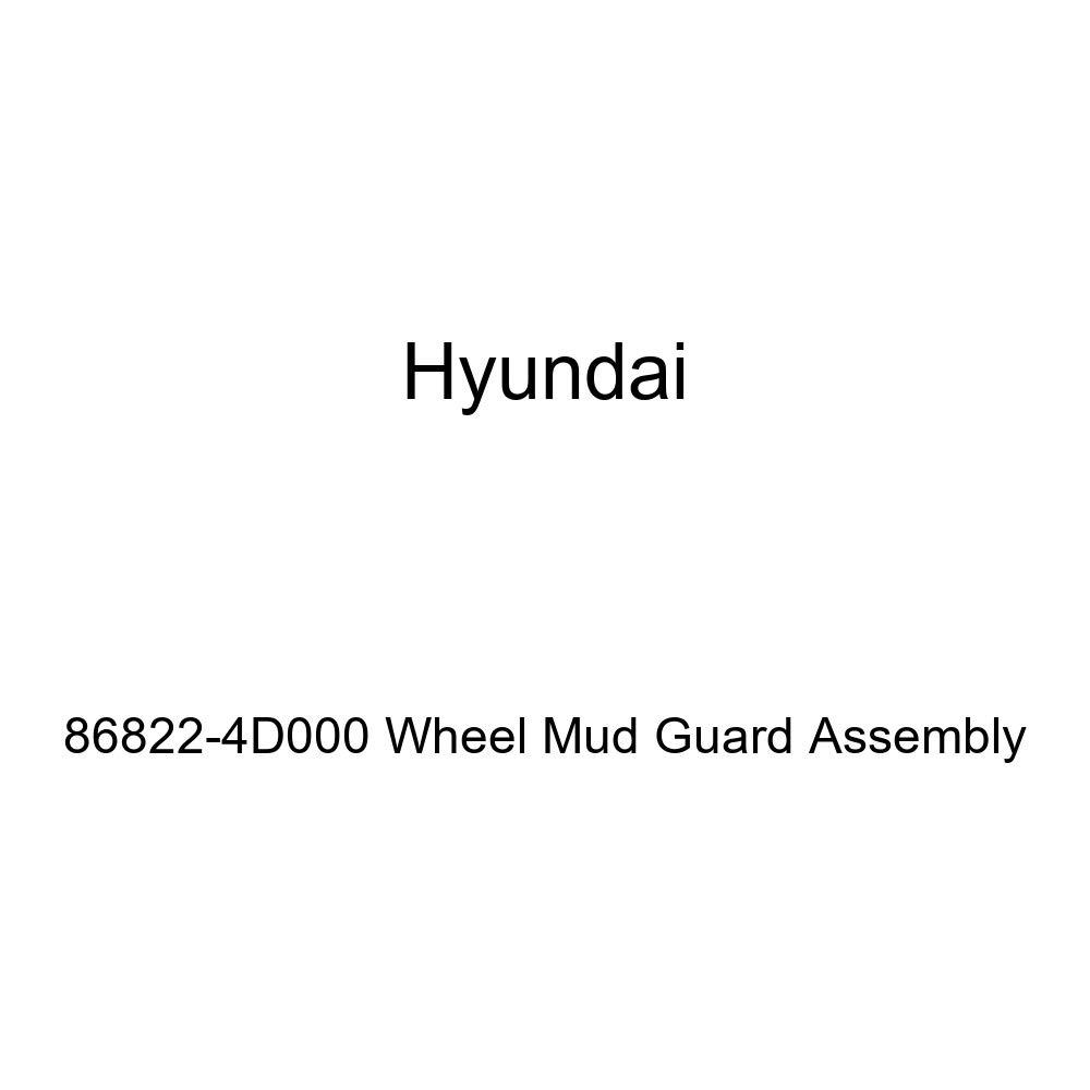 Genuine Hyundai 86822-4D000 Wheel Mud Guard Assembly