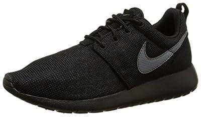 Nike Youth Roshe One (Black/Cool Grey)(5.5 M US Big Kid)