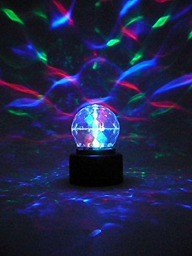 Amazon.com: Multicolored Mini Disco Ball Lamp Sensory Stimulation: Musical  Instruments
