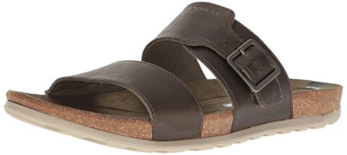 Merrell Men Sandal Downtown Slide Buckle Dusty Olive Olive