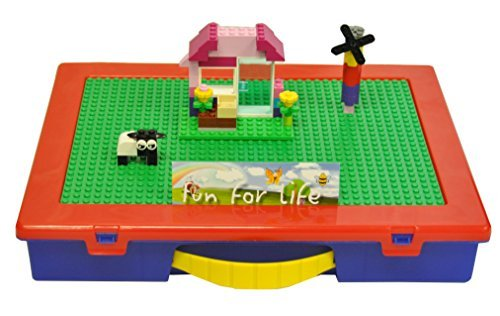 Lego-Compatible Fun For Life Organizer Case with Building