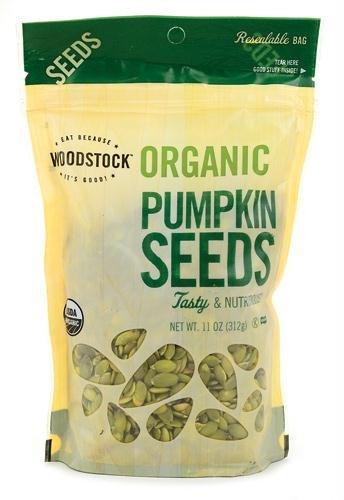 Woodstock Farms AY06752 Woodstock Farms Organic Pumpkin Seeds -8x11 Oz