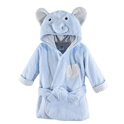 Hudson Baby Unisex Baby Animal Face Hooded Bathrobe,, used for sale  Delivered anywhere in USA