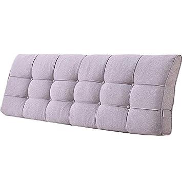 Amazon.com: GUOWEI - Cojín tapizado para cama sin ...