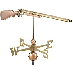 Good Directions 693P Shotgun Weathervane, Polished Copper