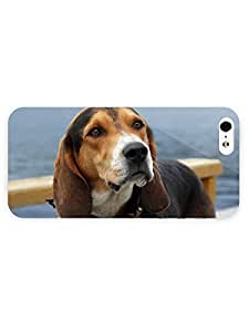 3d Full Wrap Case For Sam Sung Galaxy S5 Cover Animal Adorable Beagle
