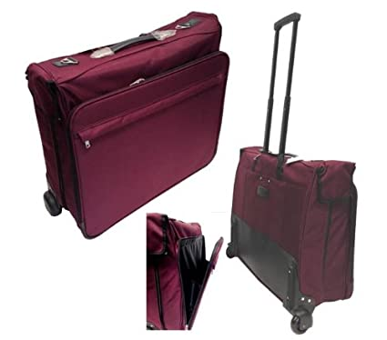 3dbd00503d17 Suit Carrier Suitcase / Travel Bag/ Overnight Bag With Hangers ...