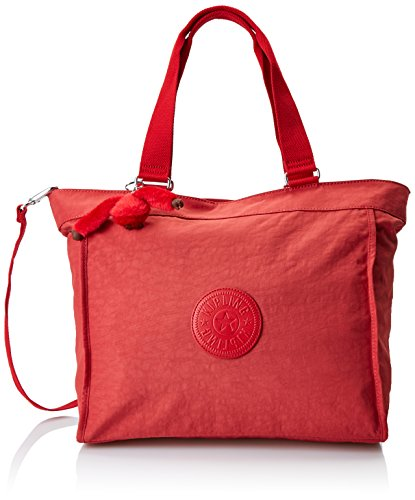 New Shopper Tote - Kipling New Shopper L, Women's Tote, Rot (Spicy Red C), 48.5x34x0.1 cm (B x H T)