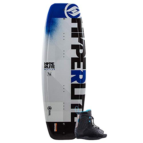 Hyperlite 2019 Motive Jr Wakeboard 119 with Boys Remix Boots K12-2