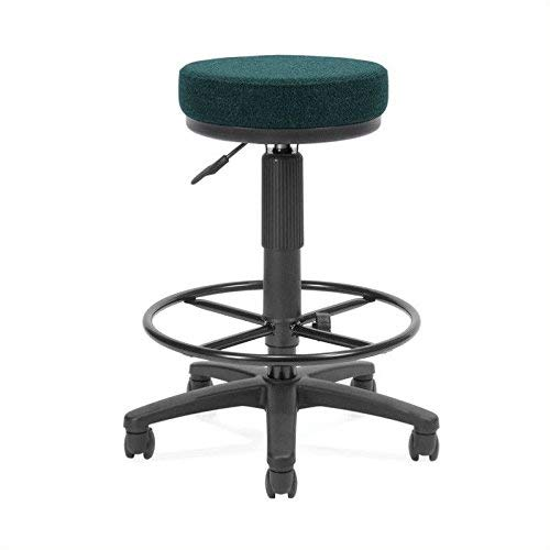 OFM Utility Stool with Drafting Kit, Teal ()