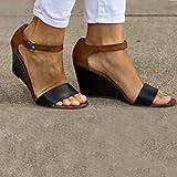 Swiusd Womens Wedges Roman Sandlas Retro Comfy