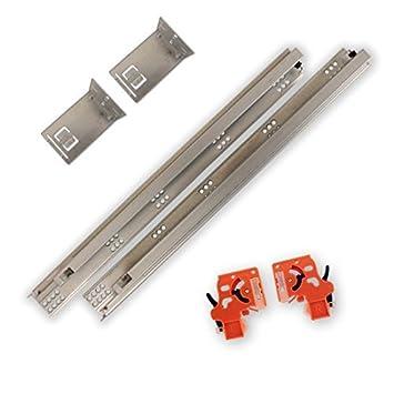 21 Soft Close, Under-mount, Full Extension drawer slide, 85 lb