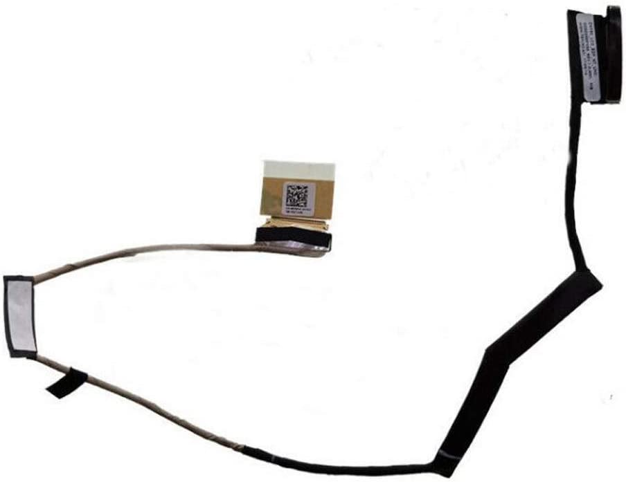 GinTai Replacement for Dell Inspiron 15 7577 7587 7570 4K 08VWHF 40PIN LCD LVDS Cable Non-Touch 40pin