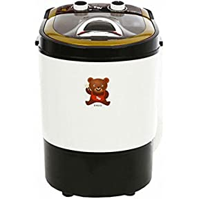 Daewoong Portable Mini Washing Machine UQW-3800M 240W Easy Speedy Convenience
