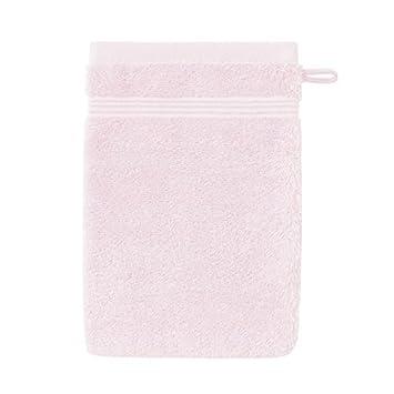 SANTENS Gant de toilette GRACE 16x22 cm - Extrait de rose: Amazon.es: Coche y moto