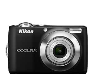 Nikon COOLPIX L24 14 MP Digital Camera with 3.6x NIKKOR Optical Zoom Lens and 3-Inch LCD (Black) (OLD MODEL)