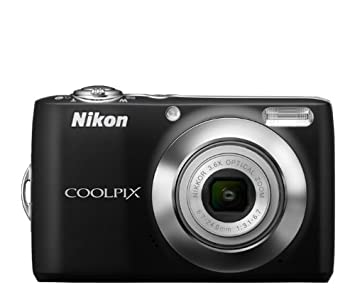 Buy Nikon Coolpix L24 Digital Camera With 3 6x Optical Zoom Black Online At Low Price In India Nikon Camera Reviews Ratings Amazon In