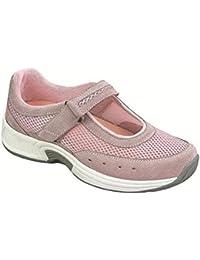 Bristol Womens Comfort Orthopedic Orthotic Diabetic Mary Jane Shoes