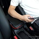 Forala Auto Center Console Pad PU Leather Car
