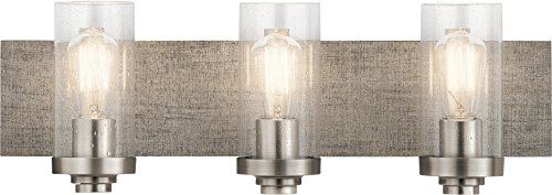 Kichler Lighting 45928CLP Three Light Bath from The Dalwood Collection