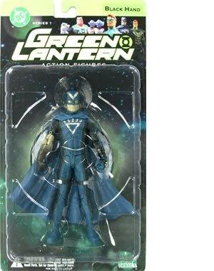 DC Comics DC Green Lantern Series 1 Black Hand Action Figure