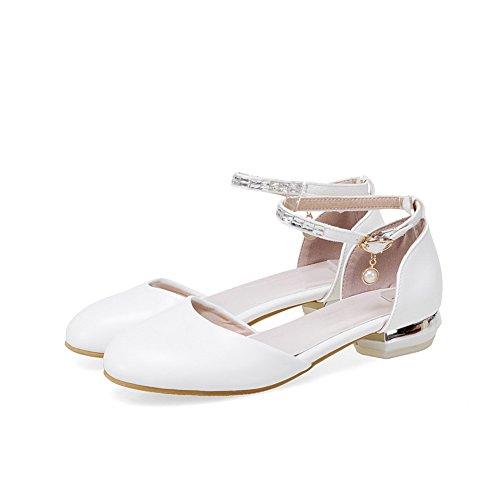 1TO9 Sandales Blanc MJS03517 Compensées Inconnu Femme vzxSCqSZ