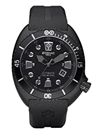 Zodiac Oceanaire Automatic Rubber Divers Mens Watch ZO8015