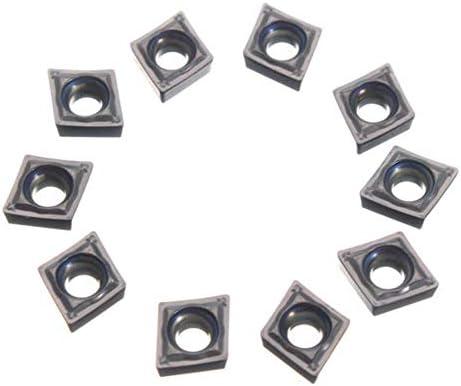 PIKA PIKA QIO 10pcs CCMT2-1-SM CCMT060204-SM IC907Carbide Einsätze for die Halter-Werkzeug-Drehen Drehwerkzeuge