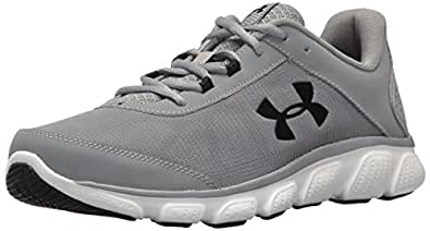 Under Armour Mens 3020673 Micro G Assert 7 Gray Size: 8 US