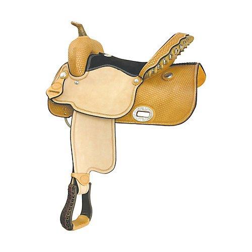 Billy Cook Saddlery Flex Wide Barrel Saddle 16 Billy Cook Barrel