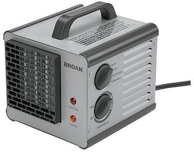 Space Heaters 6201 Broan Big Heat Cube Portable Electric Heater
