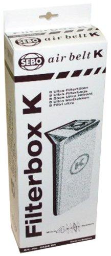 SEBO 6629AM Vacuum Filter Bag Box
