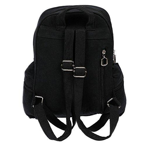 Christian Wippermann® - Bolso mochila  para mujer verde verde 24 x 30 x 13 cm verde