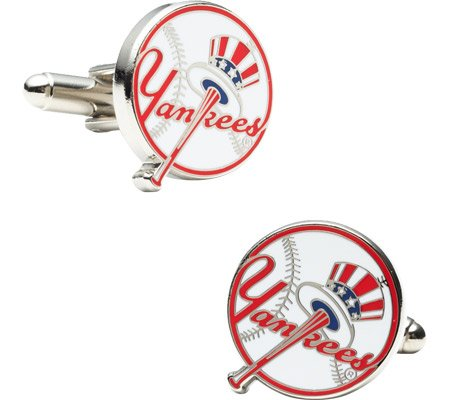 Cufflinks Inc Men's Yankees Baseball Cufflinks