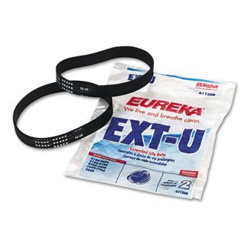 Eureka 61120G 2 Count Type U Vacuum Cleaner Belt