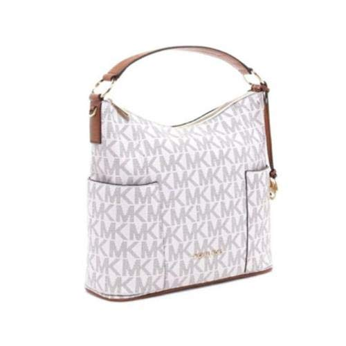 MICHAEL Michael Kors Medium Anita Convertible Women's Handbag, Style 35H7GA8L7B, Vanilla Acron