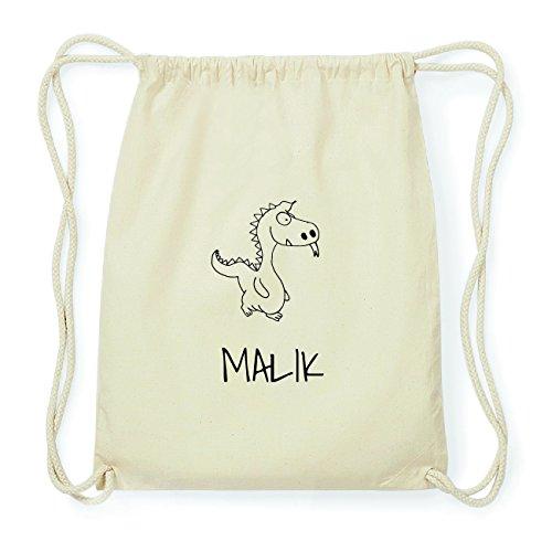 JOllipets MALIK Hipster Turnbeutel Tasche Rucksack aus Baumwolle Design: Drache