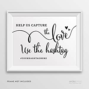 Amazon.com: Andaz Press Personalized Wedding Party Signs