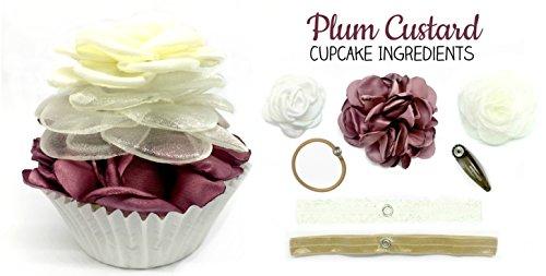 Cupcake Hair Accessory Kit, Plum ()