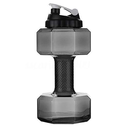 Himan Dumbbell Vorm Sport Waterflessen 2.6L Gewichten Water Dumbbells voor Vrouwen Mannen Hardlopen waterfles Draagbare…