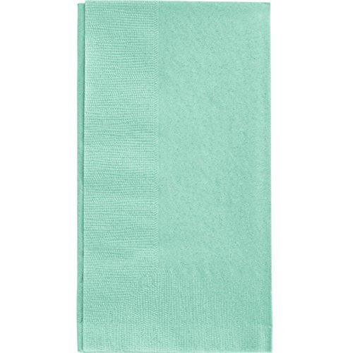 Creative Converting Touch of Color 2-Ply 50 Count Paper Dinner Napkins, Fresh Mint